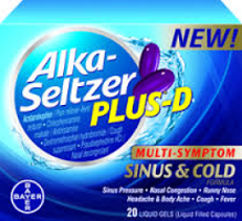 $3 off Alka-Seltzer Plus D Product Coupon