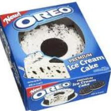 Oreo Ice Cream Cake Barcode
