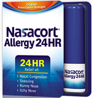 $5 off Nasacort Allergy 24 Hour Spray Coupon