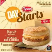 $1 off Tyson Day Starts Breakfast Product Coupon