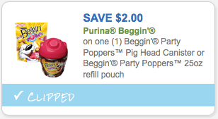 $2.00 off Purina Beggin Product