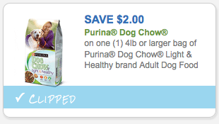 Save $2.00 on Purina Dog Chow