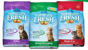 photograph regarding Cat Litter Coupons Printable called Help save $5.00 off ANY BLUE In a natural way New Cat Muddle Coupon