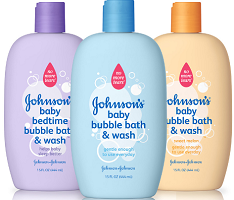 $1 off Johnson's Baby Shampoo or Bubble Bath Product Coupon