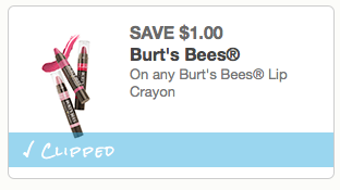 picture about Burt's Bees Coupons Printable named Preserve $1.00 off any Burts Bees Lip Crayon Printable Coupon