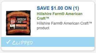 $1.00 off Hillshire Farm American Craft Product