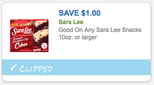 $1.00 off Sara Lee Sweet Goods